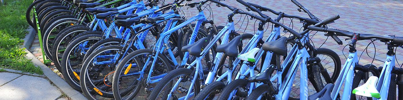 Корпоративы на велосипедах