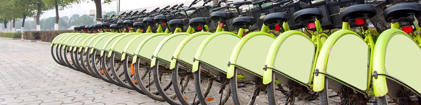 Реклама на велосипедах