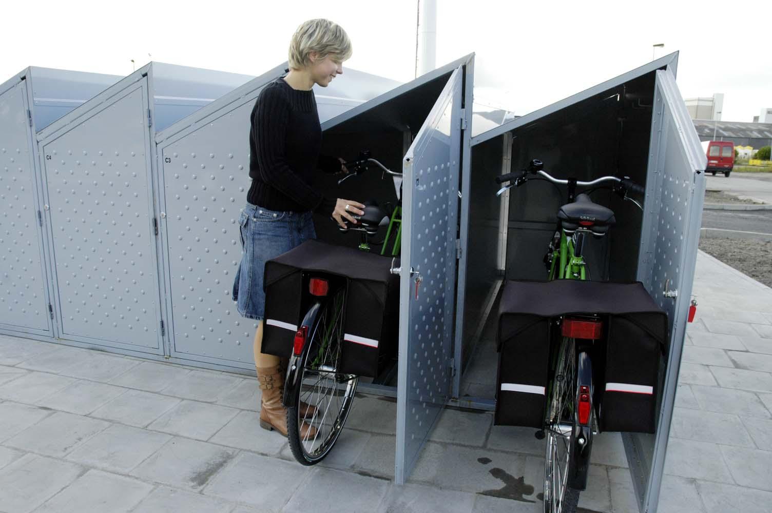 Велосипедный шкафчик или бокс