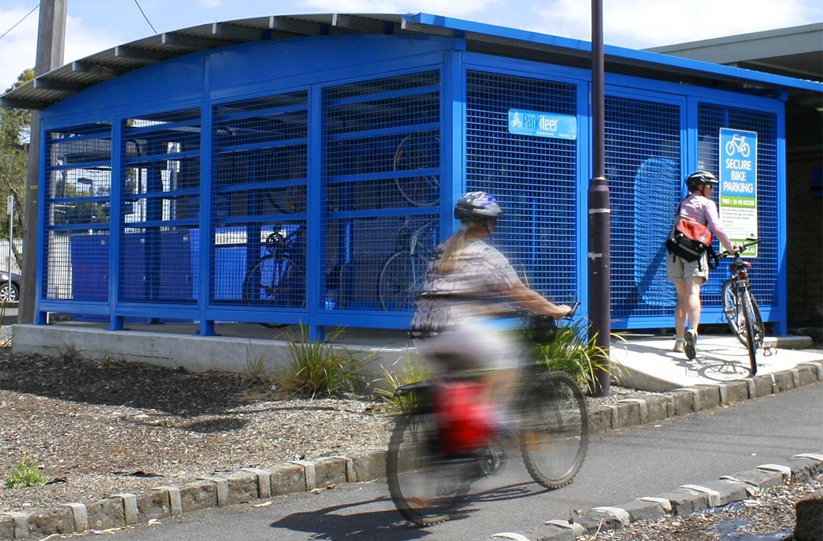 Велосипедная клетка
