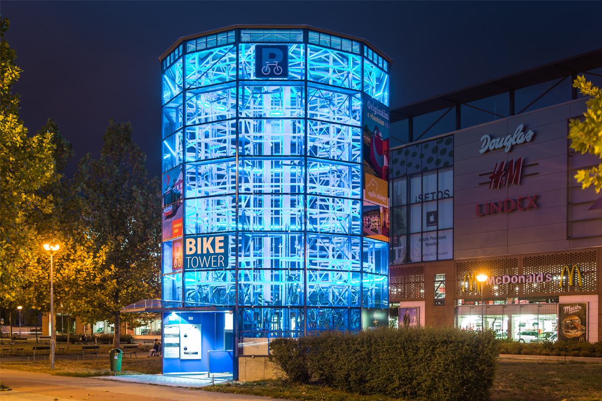 Bike Tower в Градец-Кралове