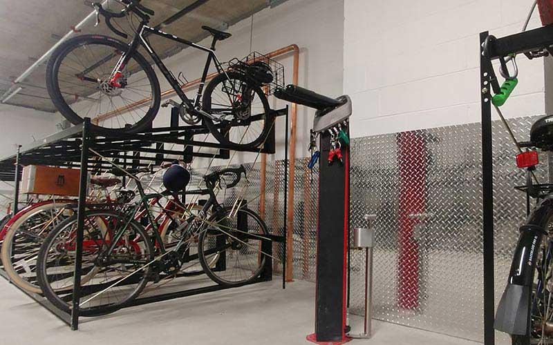 Велосипедные комнаты для хранения