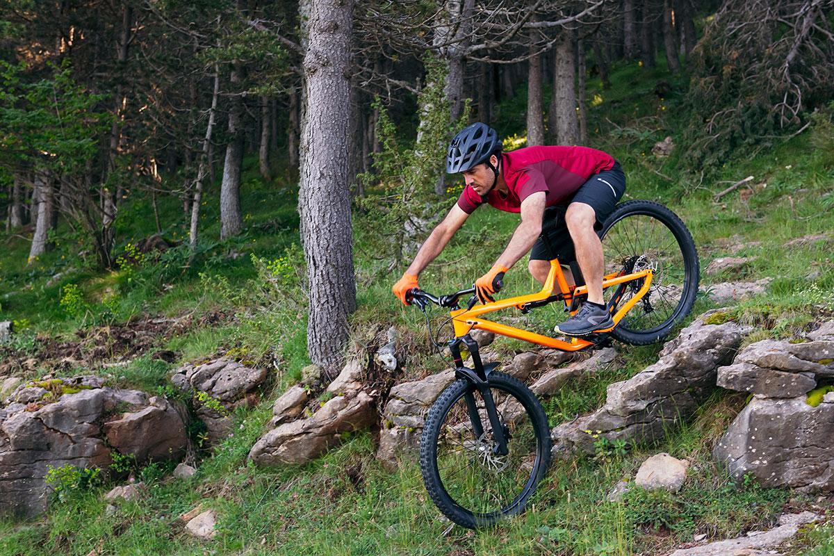 правильное торможение на велосипеде