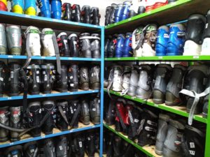 Прокат горнолыжных ботинок
