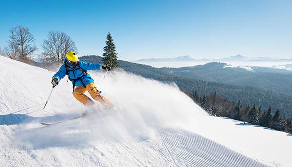 Безопасное катание на лыжах