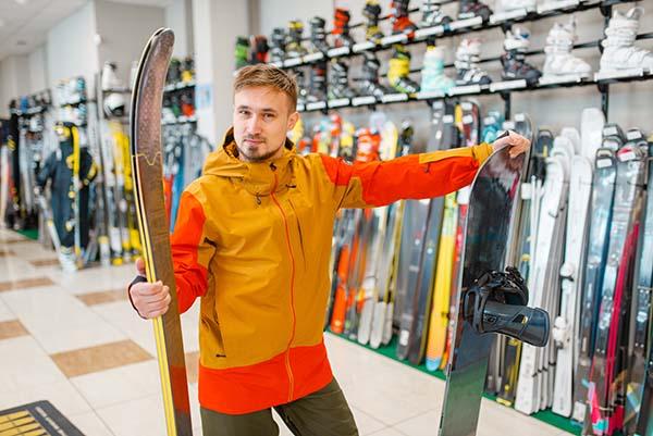 подготовка к катанию на лыжах